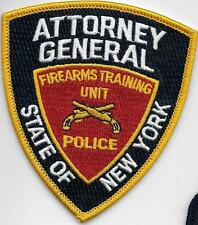 NEW YORK STATE ATTORNEY GENERAL FIREARMS TRAINING UNIT POLICE NYS AG RANGE PATCH