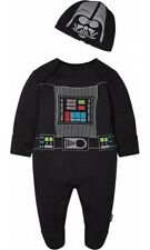 Star Wars Darth Vader Babygrow sleepsuit Romper 0-3 Month BNWT The Force Awakens