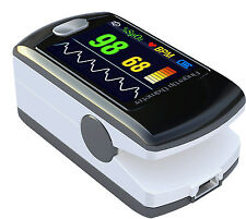 CMS50E Fingertip Pulse Oximeter with Bluetooth, OLED Display & Rechargeable USA