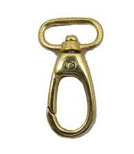 Hook Swivel Hook Gold  Size 30x55 mm Sold Each R1724
