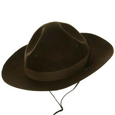 JHats Mountie Trooper Police Hat Adult Brown RCMP Royal Canadian Ranger
