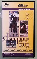 CHAMPIONS OF THE KUR  1986-1994 VHS VIDEOTAPE