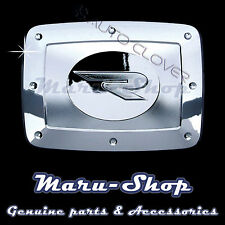 Chrome Fuel Gas Filler Door Cap Cover Trim for 01~ Ssangyong Rexton