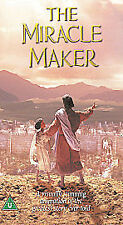 THE MIRACLE MAKER VHS PAL ANIMATION,STORY OF JESUS