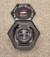 Casio G-Shock Authentic Wristwatch Black Resin Quartz Watch - GA100-1A