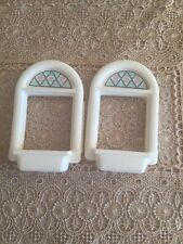 PARTS 2003 Fisher Price Loving Family Grand Dollhouse #4618 Up Stairs Windows