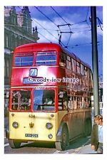 gw0429 - Huddersfield Trolleybus no 624 at Lindley - photograph