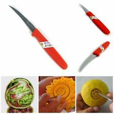 1Pcs KIWI KNIFE KITCHEN ART STAINLESS FRUIT AND VEGETABLE THAI CARVING