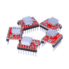 On sale! 5pcs/lot A4988 Motor Drive/Reprap Step Drive for 3D Printer+Cooling Fin
