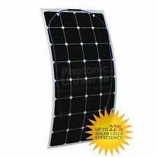 100W 18V mono semi-flexible solar panel charge for 12V battery yacht caravan RV