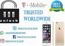 T-MOBILE IPHONE 6S/6S+/6/6S/5S/5 FACTORY UNLOCK CODE 100% GUARANTEE UNLOCK