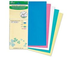 CLOVER 434 CHACOPY TRACING PAPER SHEETS 5 COLORS  Sewing Quilting Notions