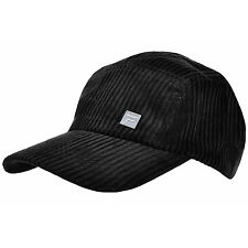 Fila Adults Black Cord Cap BNTW Adjustable Brand New Baseball Hat Golf NWT