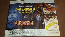WATCHER IN THE WOODS / CONDORMAN    UK CINEMA QUAD POSTER 30 X 40    WALT DISNEY