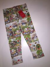 NWT 104 4 Yr OILILY Tiska Gnome Legging Pant Cutest Fairy Friend Story Jersey