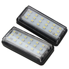 2x SMD3528 LED Car License Plate Lights For Toyota Land Cruiser Prado Reiz Lexus