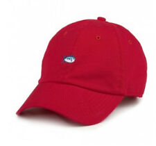 Southern Tide Small Single Fish EMB Hat Cap $25 Red L