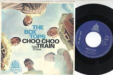 THE BOX TOPS disco 45 g. MADE in GERMANY Choo choo train + Fields of clover