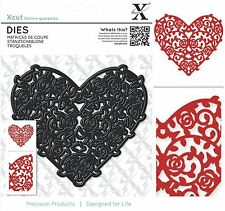 DOCRAFTS XCUT DIES FLORAL FILIGREE LOVE HEART IDEAL FOR VALENTINES DAY - NEW