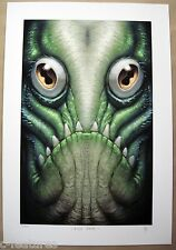 CREATURE FROM THE BLACK LAGOON Gillman ART PRINT Ltd Edition NEIL WINN Lovecraft