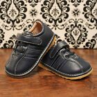 Navy Blue Toddler Boy Squeaky Shoes, Sizes 3, 4, 5, 6, 7, 8, 9