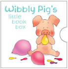 NEW WIBBLY PIG LITTLE BOOK BOX POCKET LIBRARY of 6 board books