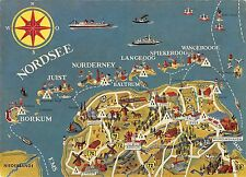 B99044 ostfriesland nordsee  germany  maps cartes geographiques