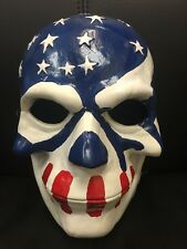 THE PURGE ELECTION YEAR 1 2 3 FIBREGLASS FANCY DRESS UP MASK ADULT CHILD ANARCHY