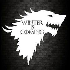 Winter is coming stark drôle voiture pare-chocs game of thrones jdm vinyl decal sticker
