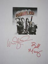 Zombieland Signed Film Movie Script Screenplay Woody Harrelson Bill Murray repnt