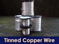 14 SWG Tinned Copper Wire 500g FUSE WIRE 100  AMP 2.0MM ON COIL
