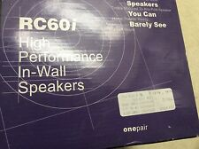NEW Polk Audio 6.5 RC60i In-Ceiling Flush Mount Audio In Wall Speakers