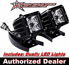 Kawasaki KFX450R ATV RIGID Handle Bar Mount  w/ Pair of Dually LED Lights  20221