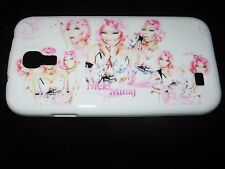 Nicki Minaj TPU Cover Case for Samsung S4 New White Multiple Nicki Pink Case