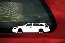 2x LOW Vauxhall / Opel Insignia Sports Tourer, wagon outline stickers
