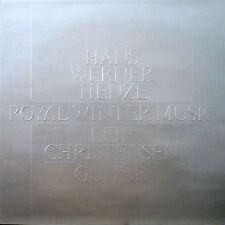 Hans Werner Henze / Royal Winter Music - Vinyl LP - Leif Christensen