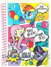 OFFICIAL MY LITTLE PONY SPIRAL NOTEBOOK | QUALITY | SCHOOL HOME GIRLS STATIONERY