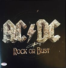 ANGUS YOUNG AUTOGRAPHED SIGNED AC/DC ROCK OR BUST PSA/DNA TOUR PROGRAM