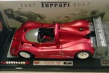 1:18 HOT WHEELS ELITE FERRARI 333 SP 60TH ROSSA CROMATA L2975
