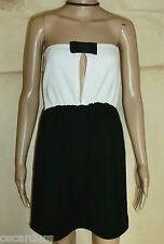 robe bustier MADAME A PARIS Taille 38 100% coton neuve avec étiquette