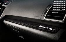 5x AMG Armaturaufkleber Aufkleber Logo Cut Vinylselbstklebe 110mm