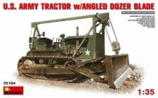 MODEL KIT MIN35184 - Miniart 1:35 - US Tractor D7 w/ Angle Dozer Blade