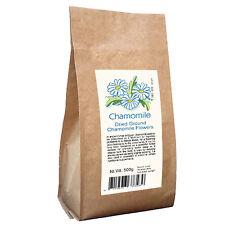 CAMOMILLA fiori polvere 500g per rilassarsi e buon sonno