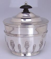 Tea Caddy Sterling Silver Holland Aldwinckle And Slater London 1897