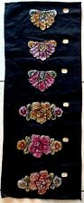 VINTAGE ART DECO DRESS BEADWORK - SHOP SAMPLE - DIFFERENT COLOURWAYS