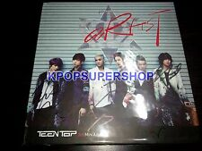 Teen Top 3rd Mini Album Artist Signed Autographed  Promo CD Great Cond. RARE