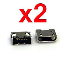 2 X LG Optimus L70 D321 D325 MS323 Charging Port Dock Connector Socket USB Port
