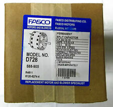 FASCO MODEL NO. D728   3-speed  3/4-1/2-1/3  H.P.  REPLACEMENT MOTOR