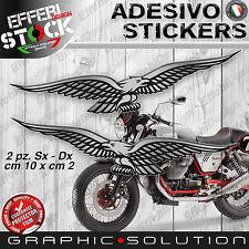 Adesivi / Stickers compatibili AQUILE MOTO GUZZI NEVADA V7 V9 STELVIO NORGE RACE