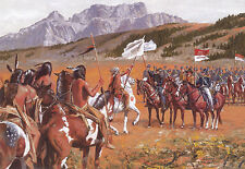 """Showing the Flag"" Don Stivers Signed Limited Edition Print - US Cavalry"